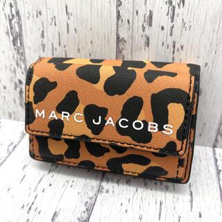 マークジェイコブス(MARC JACOBS)の◆新品◆MARC JACOBS マークジェイコブス 三つ折り レオパード柄①(財布)