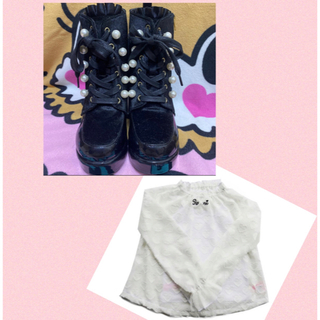 ロニィ(RONI)のRONIブーツ♡22cm(ブーツ)