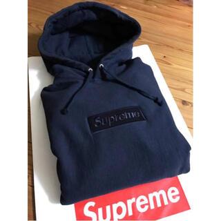 Supreme - 【半タグ付】Supreme box logo pullover パーカー