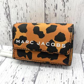 マークジェイコブス(MARC JACOBS)の◆新品◆MARC JACOBS マークジェイコブス 三つ折り レオパード柄②(財布)