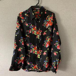 DIOR HOMME - Dior kawsシルクシャツ サイズ39