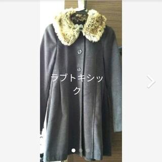 NARUMIYA INTERNATIONAL - ハーフコート グレー ラブトキシック ジュニアL
