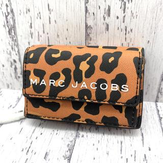 マークジェイコブス(MARC JACOBS)の◆新品◆MARC JACOBS マークジェイコブス 三つ折り レオパード柄③(財布)
