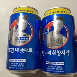 iKON - iKON Bobby ペプシ 空き缶