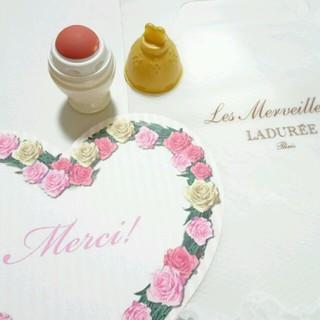 レメルヴェイユーズラデュレ(Les Merveilleuses LADUREE)のラデュレ クリームチークサンプル(チーク)