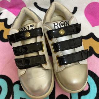ロニィ(RONI)のRONIスニーカー♡23cm(スニーカー)