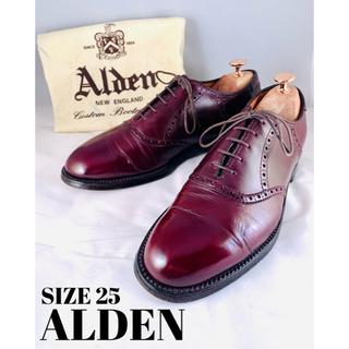 Alden - 【早い者勝ち】★ ALDEN オールデン ★ バーガンディ 定価13万