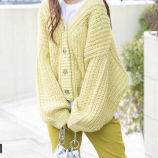 VICKY - 新品 ビッキー イエロー 黄色 Vネック カーディガン