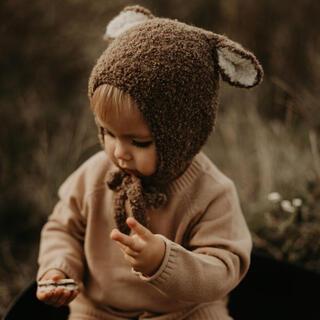 Caramel baby&child  - bambolina bonnet*brown sheep🐑