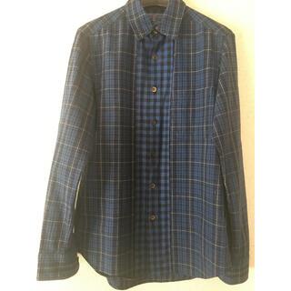 HOLLYWOOD RANCH MARKET - BLUE BLUE チェックシャツ 美品 サイズ1