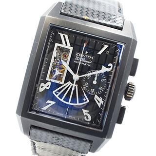 ゼニス(ZENITH)のゼニス ZENITH グラントポートロワイヤル 腕時計 メンズ【中古】(その他)