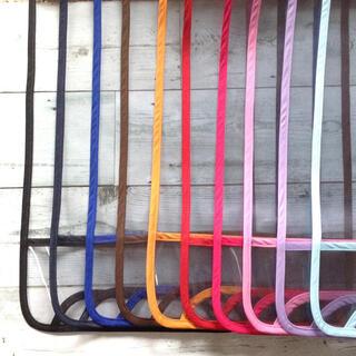 オーダーメイド☆シンプル☆透明ランドセルカバー選べる縁取り10色 静電気防止素材