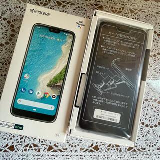 京セラ - Android one s6 ブラック SIMフリー