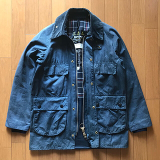 Barbour - Barbour bedale 4ポケット 88年 ネイビー バブアー ビデイル