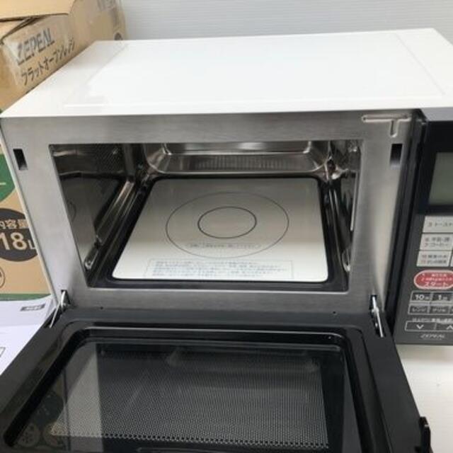 フラットオーブンレンジ 縦開庫内容量18L DFO-G1818 2019年製 スマホ/家電/カメラの調理家電(電子レンジ)の商品写真