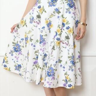 JUSGLITTY - 美品 JUSGLITTY 花柄スカート