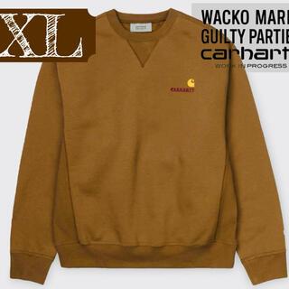 carhartt - Carhartt WACKO MARIA スウェット ベージュ ブラウン XL