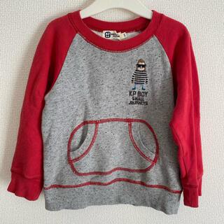 ニットプランナー(KP)のKPboy トレーナー 100(Tシャツ/カットソー)