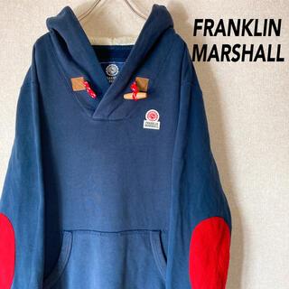 フランクリンアンドマーシャル(FRANKLIN&MARSHALL)のフランクリンマーシャル パーカー イタリア製 古着 メンズ レディース M(パーカー)