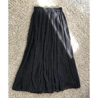 ZARA - プリーツドットスカート
