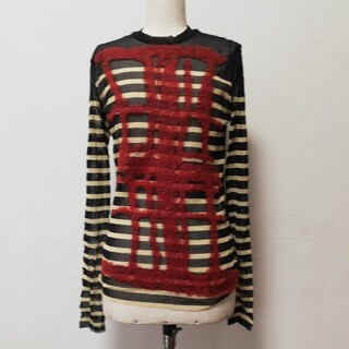 ジャンポールゴルチエ(Jean-Paul GAULTIER)のチュールトップス 未使用(Tシャツ/カットソー(七分/長袖))