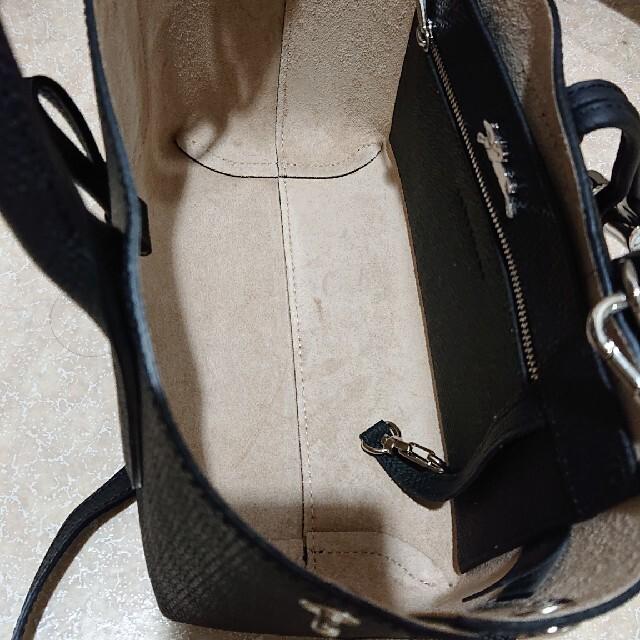 LONGCHAMP(ロンシャン)の美品 ロンシャン ロゾ トップハンドル S レディースのバッグ(ショルダーバッグ)の商品写真