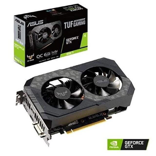 ASUS(エイスース)のTUF Gaming GeForce GTX 1660Ti スマホ/家電/カメラのPC/タブレット(PCパーツ)の商品写真