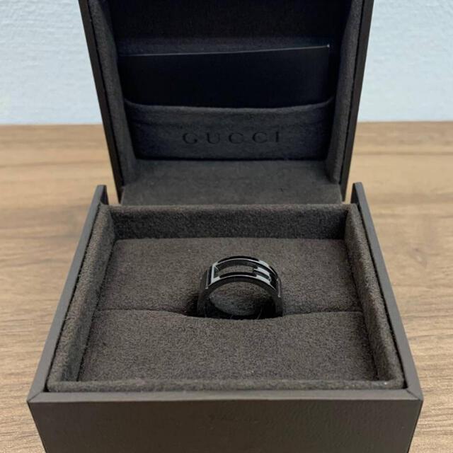 Gucci(グッチ)のGUCCI グッチ 925 シルバー G リング 10.5 11 号 箱付 美品 レディースのアクセサリー(リング(指輪))の商品写真