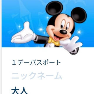 Disney - ディズニーシー 3月2日 入園済みチケット グッズ購入用