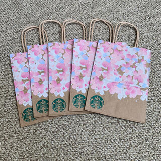 Starbucks Coffee - スターバックス ショッパー サクラ 5枚