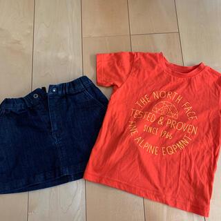 THE NORTH FACE - ザノースフェース Tシャツ&スカート
