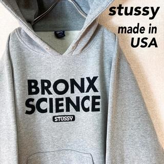 STUSSY - ステューシー パーカー スウェット USA製 古着 メンズ レディース L