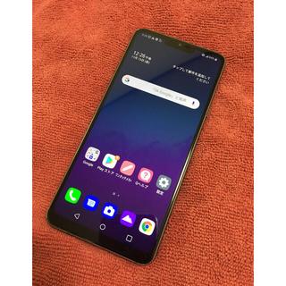 エルジーエレクトロニクス(LG Electronics)のLG G7 ThinQ SIMフリー その3(割れあり)(スマートフォン本体)