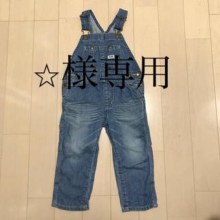 リー(Lee)の【美品】Lee オーバーオール 90サイズ(パンツ/スパッツ)