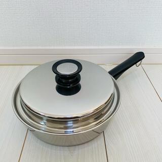 アムウェイ(Amway)の◇◆新品未使用◆◇ アムウェイクイーン 中フライパン 匿名配送 Amway 鍋 (鍋/フライパン)