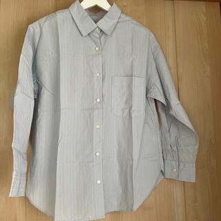 ジーユー(GU)のGU ◌ ストライプシャツ(シャツ/ブラウス(長袖/七分))