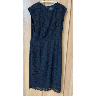UNITED ARROWS - 【美品】ユナイテッドアローズ  ブラックドレス ワンピース