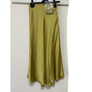 Mila Owen - 美品milaowenテールサテンスカート