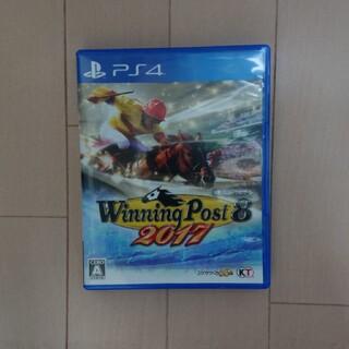 プレイステーション4(PlayStation4)のウイニングポスト8 2017(携帯用ゲームソフト)