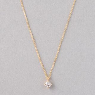 ete - 【ete】K18 ダイヤモンド ネックレス「ブライト」