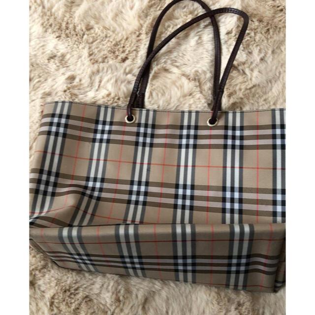 BURBERRY(バーバリー)の売れない場合は削除★バーバリー★トートバッグused レディースのバッグ(トートバッグ)の商品写真