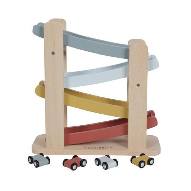 BorneLund(ボーネルンド)のリトルダッチ スロープコースター ネイチャー キッズ/ベビー/マタニティのおもちゃ(電車のおもちゃ/車)の商品写真