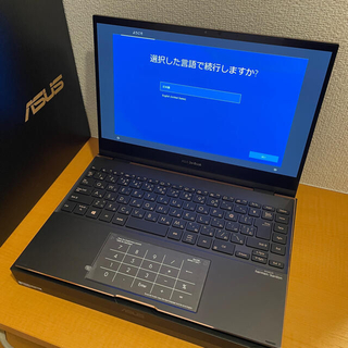 ASUS - ZenBook Flip S UX371EA 4K 有機EL/i7/16G 美品