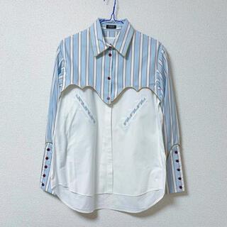 PAMEO POSE - PAMEO POSE(パメオポーズ)ストライプシャツ