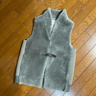 ダブルスタンダードクロージング(DOUBLE STANDARD CLOTHING)のDouble Standandard Clothing ♡ ムートンベスト(ベスト/ジレ)