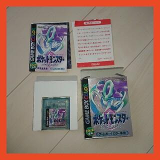 ゲームボーイ - ポケットモンスタークリスタル(GBC)