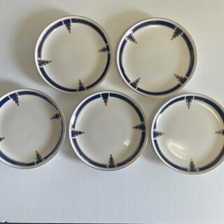 ノリタケ(Noritake)のプレイボーイ ソーサ、ケーキ皿、中皿五枚 新品未使用(食器)