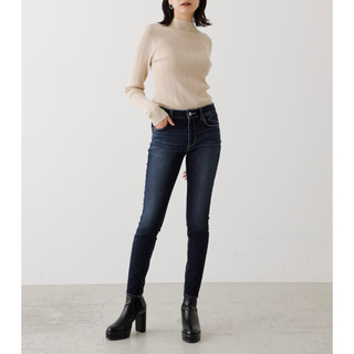 AZUL by moussy - 新品 アパーフェクトデニムスムース