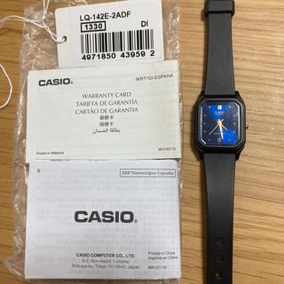 カシオ(CASIO)のCASIO 腕時計 スクエア文字盤(腕時計)