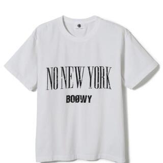 アダムエロぺ(Adam et Rope')の新品 未使用 BOOWY ADAM ET ROPE Tシャツ 白 限定(Tシャツ/カットソー(半袖/袖なし))